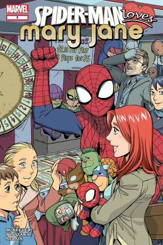 Spider-Man Loves Mary Jane 5