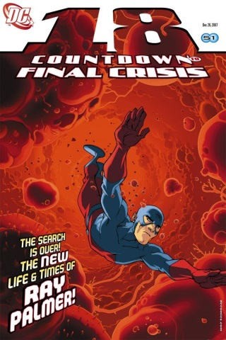 Countdown to Final Crisis 18