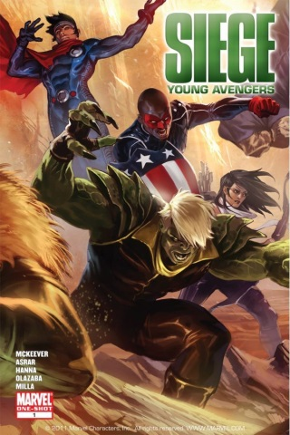 Siege: Young Avengers 1