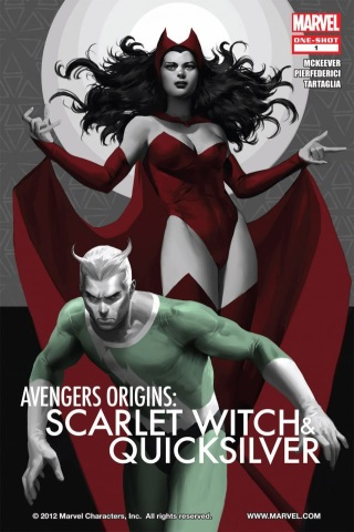 Avengers Origins: Scarlet Witch & Quicksilver 1