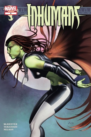 Inhumans 8 (vol 4)