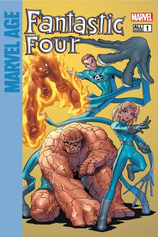 Marvel Age Fantastic Four 1