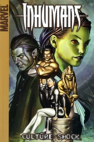 Inhumans vol 1: Culture Shock